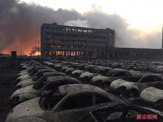 中国 天津爆発事故