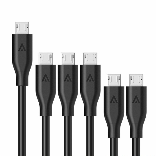 Anker PowerLine Micro USBケーブル 6本セット