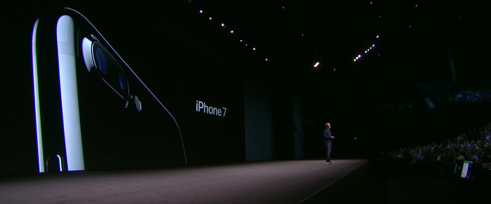 アップルの発表会 iPhone 7