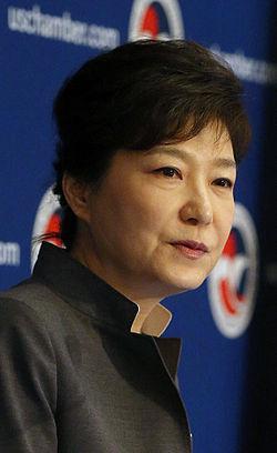 朴槿恵大統領