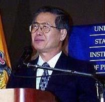フジモリ元ペルー大統領