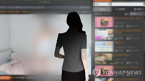ネット生放送で猥褻な行為