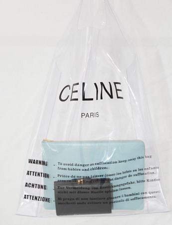 CELINEのビニール袋