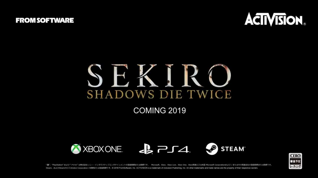 隻狼 -SEKIRO: Shadows Die Twice-