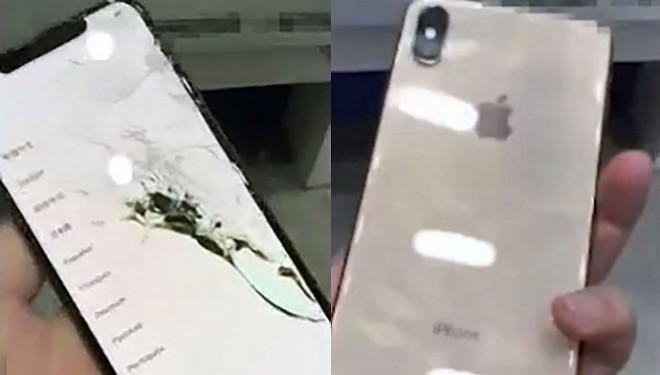iPhone Xs MAX 破損