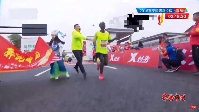 中国のマラソン大会