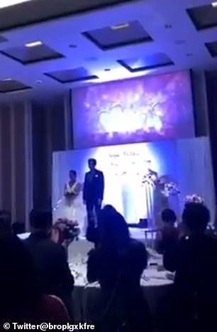 結婚式で復讐
