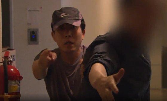 自由北朝鮮運動連合 代表が暴行