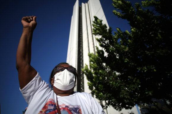 ブラジルでデモ