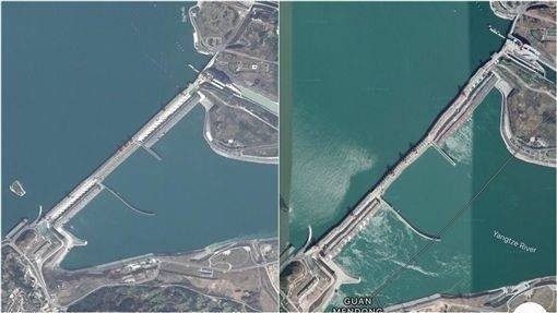三峡ダムの歪み