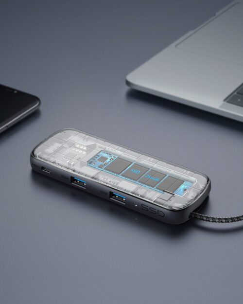 Anker PowerExpand 4-in-1 USB-C SSDハブ